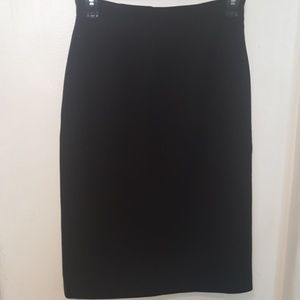 Calvin Klein black pencil skirt